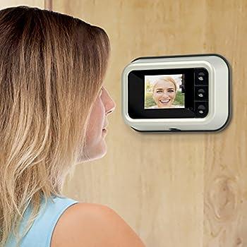 IdeaWorks Digital Door Peephole Camera - - Amazon.com