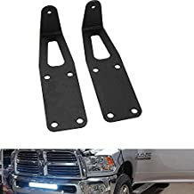 "TURBO SII 20-22"" inch Single or Dual Row LED Light Bar Hidden Bumper Mounting Mount Brackets For 2003-2016 Dodge Ram 2500/3500"