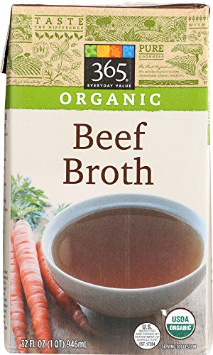 365 Everyday Value, Organic Beef Broth, 32 oz