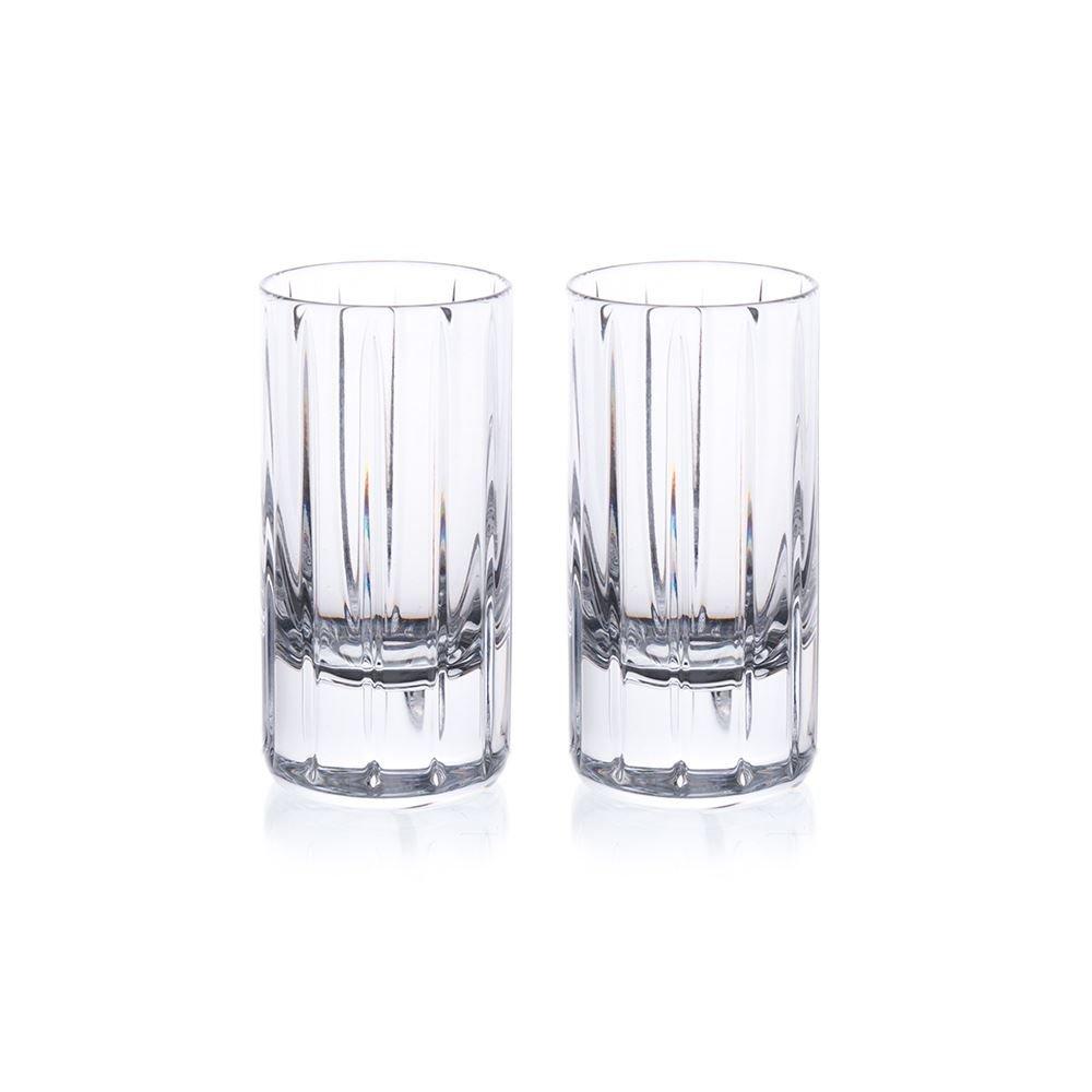 Rogaska Avenue Shot Glasses, Set of 2