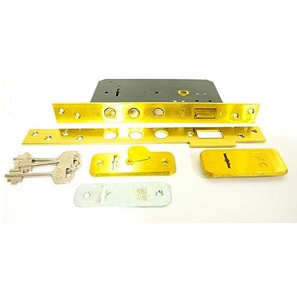 Cerradura de embutir en madera Serie 400 Modelo 402 FAC llave de Borja