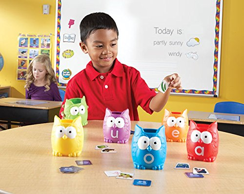 51YY1BWSjGL - Learning Resources Vowel Owls Sorting Set