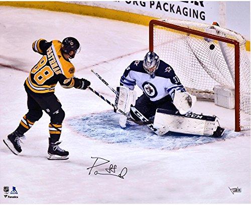 - David Pastrnak Boston Bruins Autographed 16
