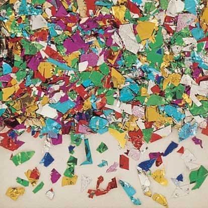 Confetti Mix 10 Ounces (Foil Confetti)