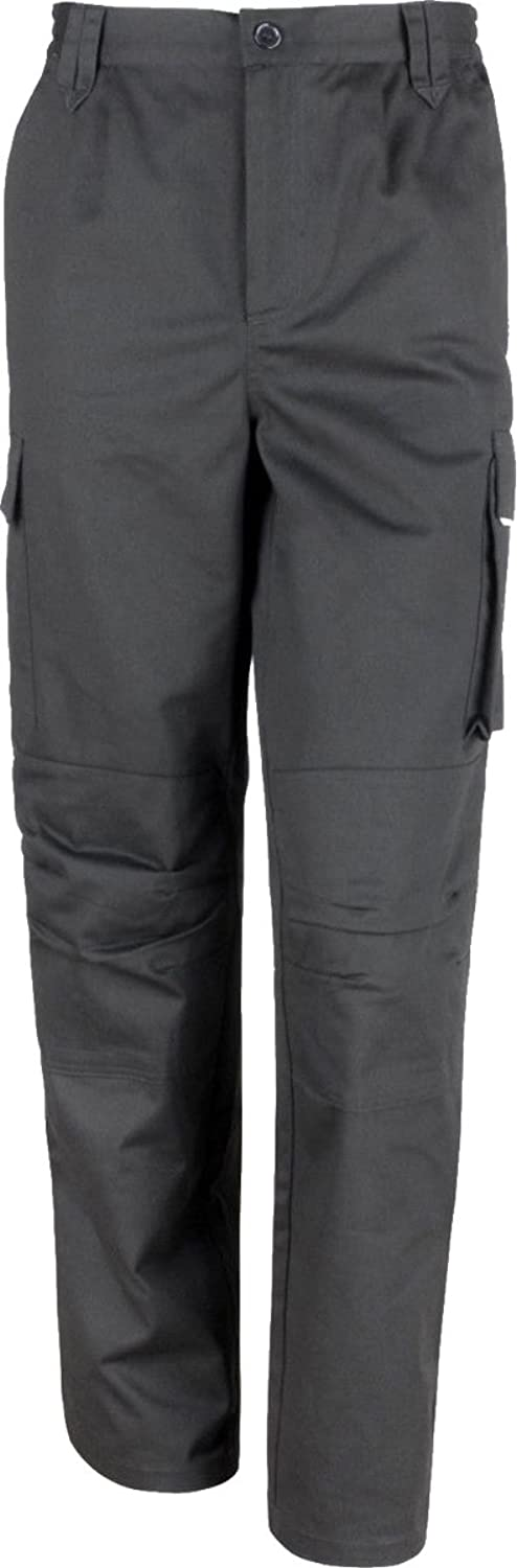 Result Work-Guard Mens Workwear Windproof Hammer & Belt Loops Action Trousers