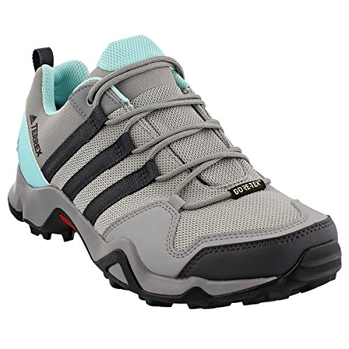 Adidas Sport Performance Women's Terrex AX2R Gore-Tex Hiking Sneakers, Grey, Textile, Rubber, 8 M by adidas Sport Performance
