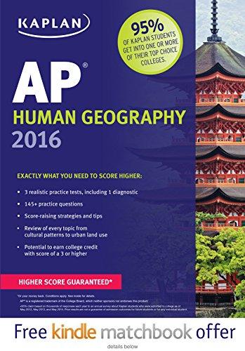 Kaplan AP Human Geography 2016 (Kaplan Test Prep)