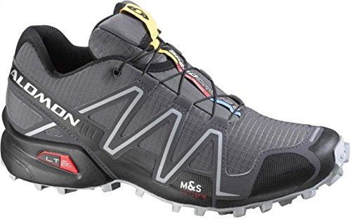 Salomon Men's Speedcross 3 Trail Running Shoe, Slate Blue/Black/Deep Blue, 12 D US