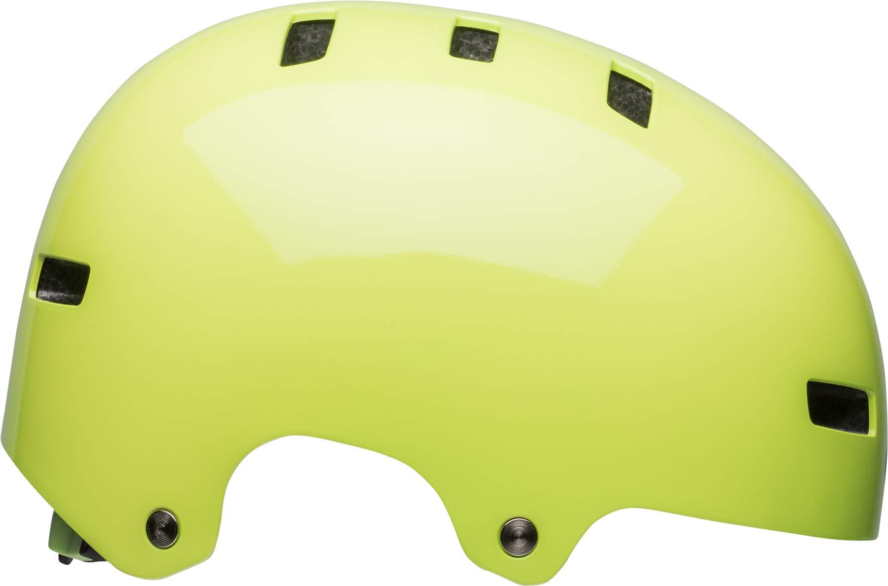 Bell Local Adult BMX & Skate Helmet (Gloss Pear (2018), Small)