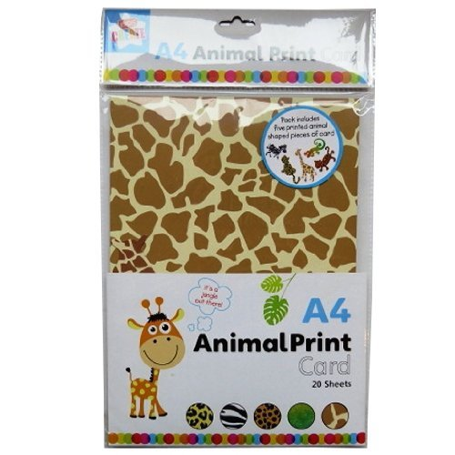 A4 Animal Print Card 20 - Anker Stone