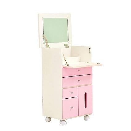 Comodino Con Specchiera.Comodini Mobile Toilette Specchiera In Legno Massello Flip