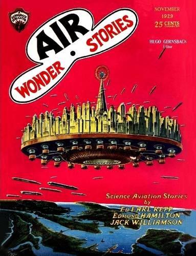 Download Air Wonder Stories, November 1929 pdf epub
