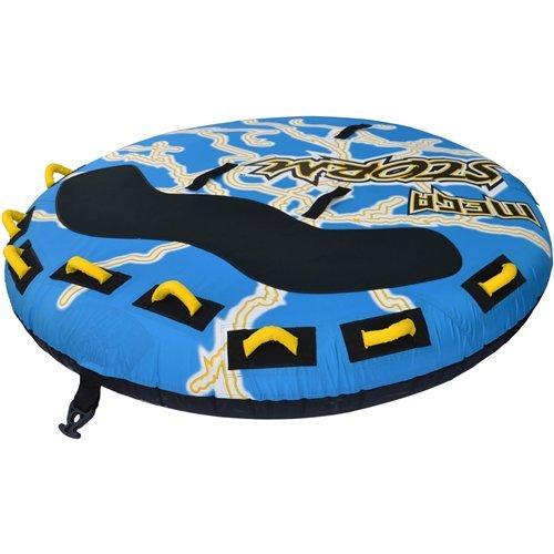 RAVE Mega Storm Inflatable 1-4 Rider Towable Tube (Rave Sport Mega Storm 4 Person Towable)