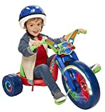PJ Masks 15'' Fly Wheel Junior Cruiser 1 Ride-on, Ages 3-7, Red/Blue, 20'' W x 22.5'' H x 32.83'' L