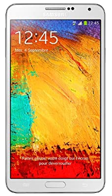 Smartphone SAMSUNG GALAXY NOTE3 4G BLANC 32GO
