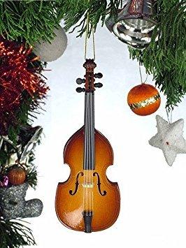 Broadway Upright Bass Musical Instrument Ornament 5 ()