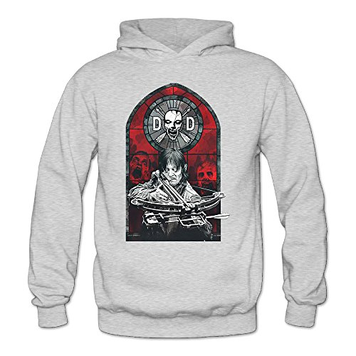 MARC Women's Licensed THE WALKING DEAD Dixon Stained Glass Sweater Ash Size - Ben Affleck Sunglasses