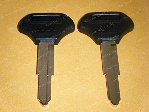 (KAWASAKI ZRX1100 (2) KEY BLANKS 1999 2000 ZRX 1100 (TWO KEYS))