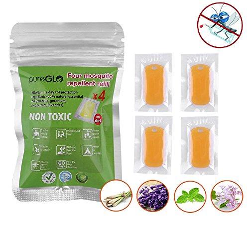 pureGLO Pack Mosquito Repellent Refills
