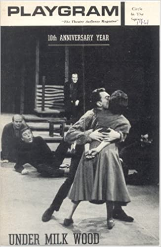 Under Milk Wood Anniversary Today >> Playbill Under Milk Wood Circle In The Square New York 1961