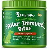 Zesty Paws Allergy Immune Soft Chews + Hemp Seed