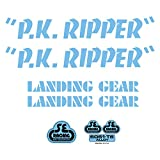 SE Bikes PK Ripper Decal Set null BLUE For Sale