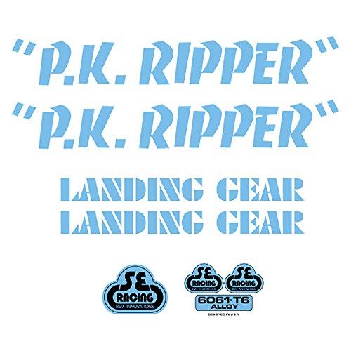 SE Bikes PK Ripper Decal Set null BLUE