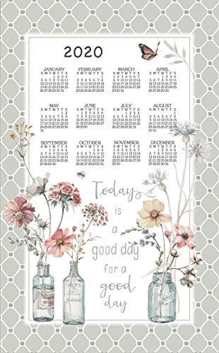 Kay Dee 2020 Handmade Linen Calendar Towel (F3358) ()