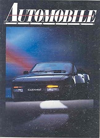 1989 Porsche 944 Turbo 944S2 Sales Brochure