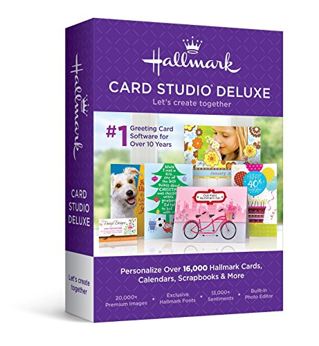 - Hallmark Card Studio 2016 Deluxe