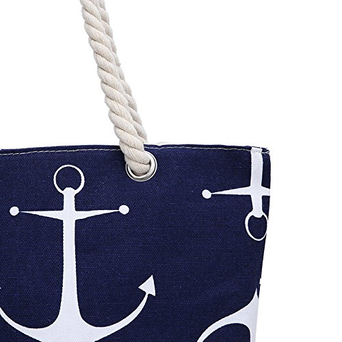 Bolso Blue para ClothingTM mujer playa Anchor de Samanthajane 6p0Ow5fqp
