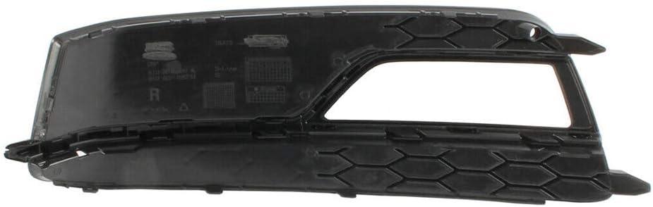 GSRECY F/ür A5 S-Line S5 2013-2016 Frontsto/ßstange Nebelscheinwerfer Grill K/ühlergrillabdeckung Verkleidungspaar Chromverkleidung