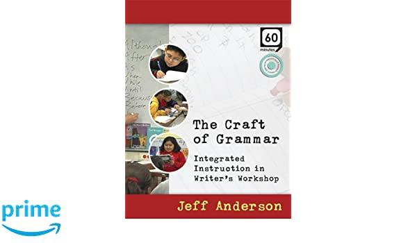 Amazon The Craft Of Grammar Dvd Integrated Instruction In