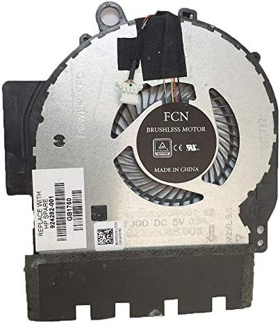 DoWee Cooling Fan for HP X360 14-BA 14T-BA 14M-BA Compatible 924281-001