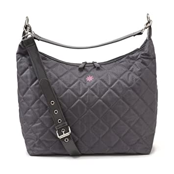 Amazon.com: JP Lizzy Hobo Diseñador Bolsa de Pañales, gris: Baby