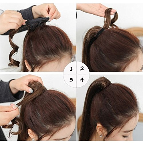 Hair Extensions Ponytail Wrap Around Ponytail Clip In Hair