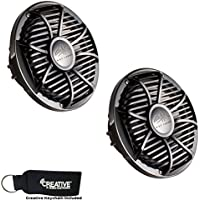 Wet Sounds Subwoofer Package: Two 10 Black 4-ohm Free Air Subwoofers (SW-10FAS4-BV2)