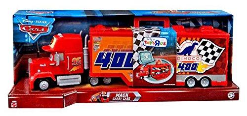Mack Truck Transporter (Disney / Pixar Cars Mack Truck Transporter 16 Car Carrying Case 1:55 Scale Mattel)