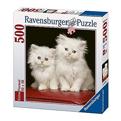 Ravensburger 15215 Puzzle Quadrato Persiani Bianchi 500 Pezzi