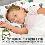 Toddler Pillow with Pillowcase - 13X18 Soft Organic