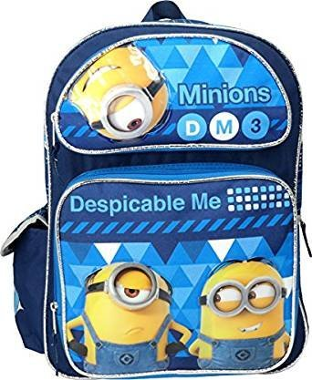Despicable Me 3 Minions 16 Large Backpack [並行輸入品]   B078WVSWZ2