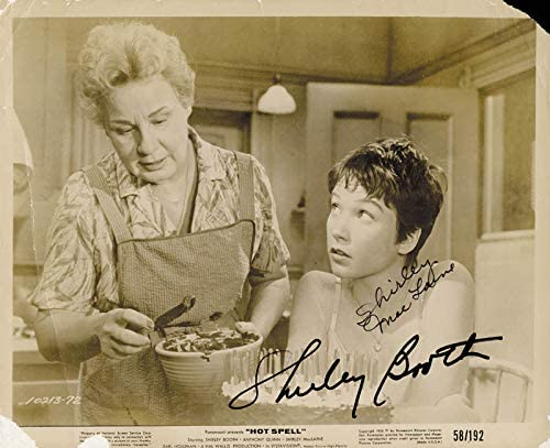 Hot Spell Movie Cast - Photograph Signed co-signed by Shirley Booth,  Shirley Maclaine at Amazon's Entertainment Collectibles Store