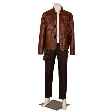 CG disfraz para hombre Star Wars Han Solo traje de Cosplay: Amazon ...