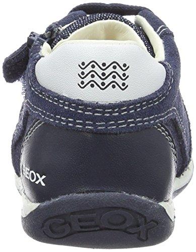 Geox B Each Boy a, Botines de Senderismo para Bebés Azul (Navy/whitec4211)