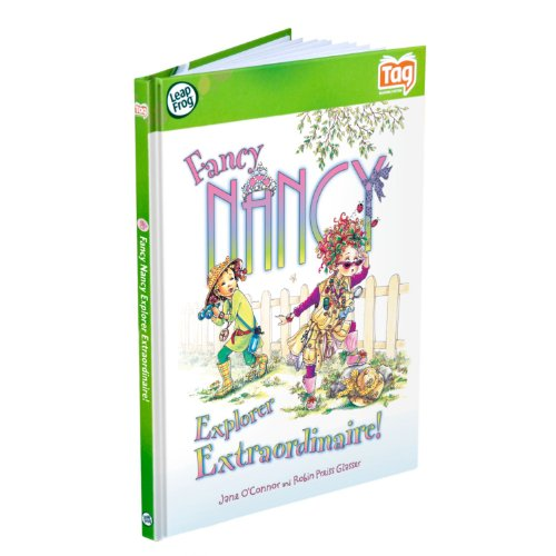 LeapFrog LeapReader & Tag Activity Storybook Fancy Nancy: Explorer Extraordinaire
