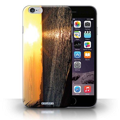 Hülle Case für iPhone 6+/Plus 5.5 / Strand Entwurf / Sonnenuntergang Collection