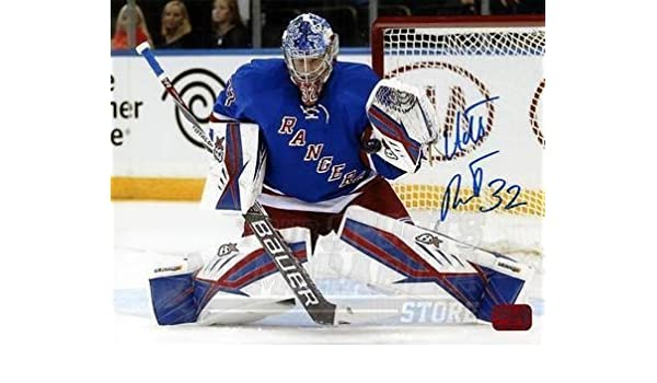 Antti Raanta New York Rangers Signed Autographed Home Goaltending Action  8x10 B at Amazon s Sports Collectibles Store 20abf869f