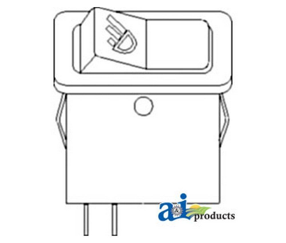 A&I - Switch, Work Light. PART NO: A-ESL12573