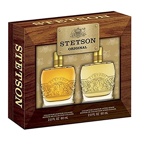 - Steteson 2 Oz Cologne and 2 Oz Aftershave Gift Set for Men + FREE Scunci Effortless Beauty Black Clips, 15 Count