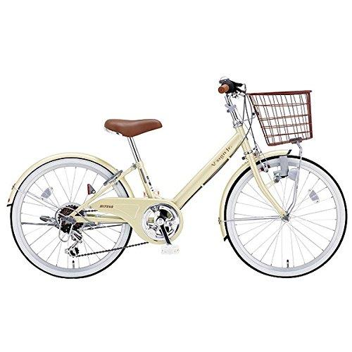 ミヤタ(MIYATA) 子供用 自転車 VサインJR CRVJ2468 (OW44) アイボリー B077NW8C34